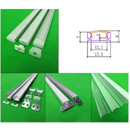 5m 10X0.5m 20inch 17.5*7mm led aluminium profile for led tape and rigid strip ,led cabinet bar light with 5050 5630 strip for indoor use