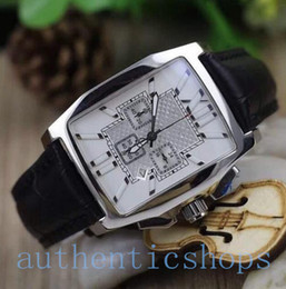 Wholesale Luxury Brand flying b Limited Edition quartz chronograph movement leather Mens WristWatch sapphire glass high folding clasp Sport Watches