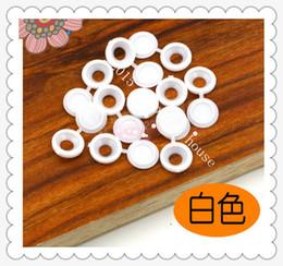white 200pcs 13.5mm furniture accessories Plastic plug cap screw lid cover GM furniture decorative cap cove