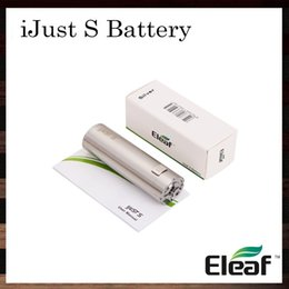 Wholesale iSmoka Eleaf iJust S Battery mah Direct Output Voltage System Dual Circuit Protection Original