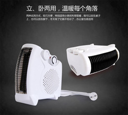 Wholesale MinF03 W mini warmer fans Heater Portable warm feet ceramic electric heater mini electric heater space warmer