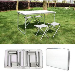 Wholesale Portable Plastic Indoor Outdoor Picnic Party Camp Tables Folding Table Ft