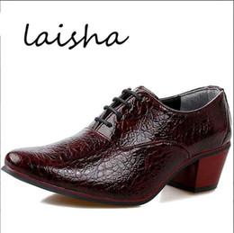 Italian Fashion Leather Men Shoes Point Toe Elegant Qualit Leather Mens Dress Flats Shoes Oxford Shoes For Men Business Shoes