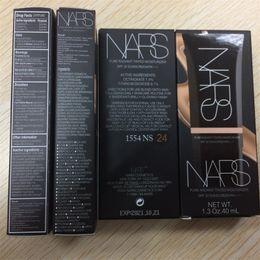 Wholesale Newest NARS Liquid Foundation ml Sun Block SPF30 Pure Radiant Tinted Moisturizer Concealer high quality