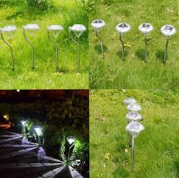 Luces led solar led solar en venta-2016 nuevo inoxidable de energía solar LED brillante de ahorro de energía a prueba de agua de diamante Shape Light Lampe césped para jardín al aire libre decorativa