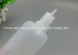 600pcs lot LDPE Plastic Bottles Wholesales 100ml empty e-cig liquid bottles With tamper evident cap and slim tips free shipping