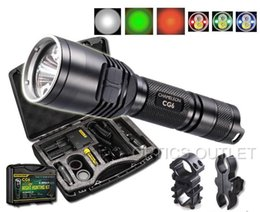Wholesale Nitecore CG6 Lumen Rechargeable Hog Hunting Light w Green White Red Beams