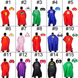 Adult Costumes & Cosplay cape customize logo-size 110*70cm Adult cape 15 styles