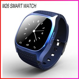 Wholesale M26 sport smatwatch Bluetooth Smart Watch With LED Alitmeter Music Player Pedometer For Apple IOS Android with retail box