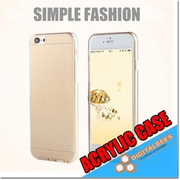 Wholesale Acrylic Slim Clear Case For Iphone Plus Highly Clearance Samsung S7 Edge ON5 TPU Edge mm Thin Transparent Matt Phone Case