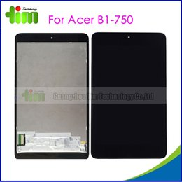 Wholesale For Acer B1 Original LCD display touch screen with digitizer assembly Black replacement spare parts Tim03