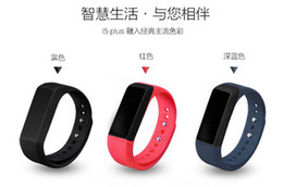 Wholesale Excelvan I5 Plus Smart Bracelet Bluetooth Waterproof Touch Screen Fitness Tracker Health Wristband Sleep Monitor Smart Watch