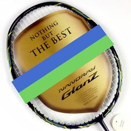Wholesale 2015 Best price NANORAY GLANZ badminton racket high quality racquet de badminton with string NANORAY NR GZ badminton racquet