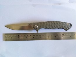 A DAI Custom Knife Zero Tolerance ZT0454 Dmitry Sinke CPM-S35VN Blade 3D Titanium Handle Folding Knife Tactical Tools EDC Free Shipping