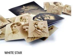 Wholesale Titanic list Whitestar Magic Trick White star name card magic props Close up magic stage mentalism illusions