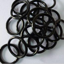 Black NBR70A O-Ring Seals ID113.97,120.32,126.67,133.02,139.37,145.72,152.07,158.42,164.77,171.12mm*C S2.62mm AS568 Standard 100PCS Lot