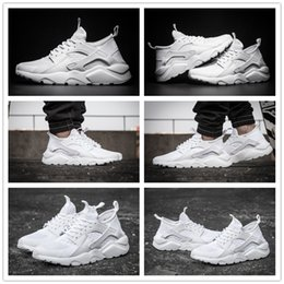 Wholesale Hot Sale Air Cushion Huarache Red Black Running Shoes White Men s Women s Huaraches Outdoor High Quality Run Ultra BR Walking Shoes