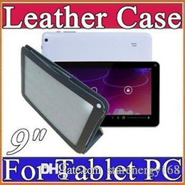 Special Leather Case Stand Cover For 9 inch Android Tablet PC MID Allwinner A13 A20 A23 A33 Actions ATM7021 ATM7029 C-PT