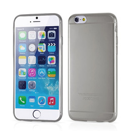 Pure Transparent Cell Phone Cases High Quality TPU Black Cheap Phone Covers for iphone 6S 5s 38