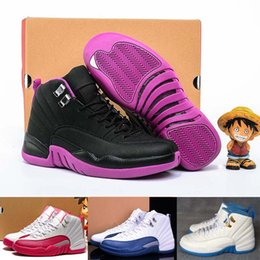 Wholesale 2016 Newairl Hyper Violet Women Retro Basketball Shoes For Girl Version Purple Woman Retros Sport Trainers GS Sneakers Shoes US5