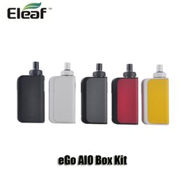 100% Original Joyetech eGo AIO Box Kit Built-in 2100mah Battery 2ml atomizer with Childproof All-in-one Starter Kits