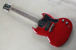Free shipping! S G 400 electric guitar,G solid wine red guitar,single pickup,AAA+++ Mahogany body