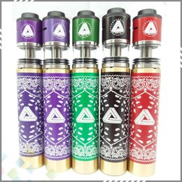 Wholesale Newest Limitless Kit Come with Limitless Mechanical Mod Clone Limitless RDTA Copper or Brass Material Colorful DHL Free
