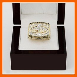 Wholesale Sales Promotion For Los Angeles RAMS Replica Super Bowl Copper High Quality Championship Rings For Best Gift