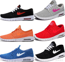 Wholesale 2016 classic Stefan Janoski Max Women Men Dress Shoes Max SZ breathable mesh