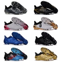 Wholesale X Purechaos FG AG Soccer Boots High Tops Mens Football Boots New Pure chaos Soccer Cleats Football Soccer Shoes X16 Cleats