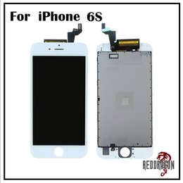 Wholesale AAA For IPhone S LCD Display inch Touch Screen Digitizer Full Assembly Replacement Parts White or Black Free DHL Shipping
