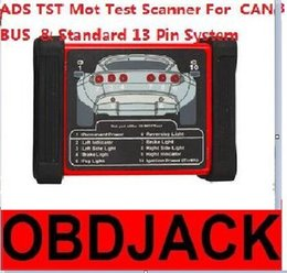 Wholesale 2016 Newest ADS TST Mot Testing Scanner For CAN BUS And Standard Pin System DHL