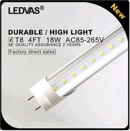 Wholesale LED light W T8 led tube light mm Cree SMD2835 PF gt Ft V V White Warm White Factory outlets Year Warranty