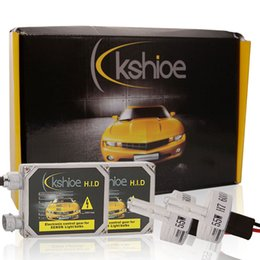 Wholesale USA Kshioe W H7 Xenon Car Xenon HID Beam Slim Ballast Kit Light Car HID Xenon Lamp Kit K K K for Headlight