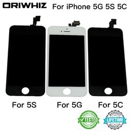 Grade AAA Quality LCD Display For iPhone 5 5S 5C SE Touch Screen Digitizer Cold Press Frame Full Assembly Replacement Mix Order Available