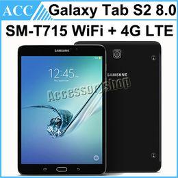 Refurbished Original Samsung Galaxy Tab S2 SM-T715 T715 8.0 inch Wifi + 4G LTE 3GB RAM 32GB ROM 8.0MP Camera Android Tablet PC