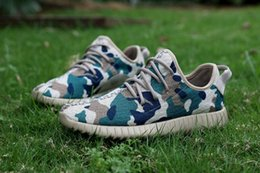 Wholesale 2016 Boost Camouflage Running shoes Women and Men Camo BB5052 Custom Made Sports Shoe Disruptive Pattern Sneakers With Original Box