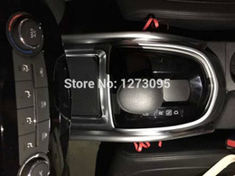 ABS Chrome Bit in the control gear decorative frame For 2015 2016 Nissan Qashqai J11 Auto Styling Accessory