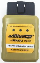 Newest Truck AdblueOBD2 Emulator for RENAULT adblue DEF Nox Emulator via OBD2 Adblue OBD2 for Renault