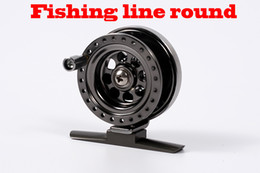 Wholesale All metal craft wheel flywheel fly round ice fishing fishing vessel angeles angeles BLV50 fishing rod round