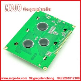 Wholesale LCD x64 Dots Graphic Yellow Green Color Backlight LCD Display Shield V display doll lcd display wall mount