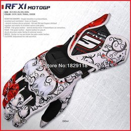 Wholesale New street Alpine gloves FIVE RFX1 ine REPLICA gloves Leather Protective Motorcycle Racing mens gloves gp pro stars