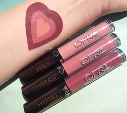 Wholesale OFRA Liquid Lipsticks long lasting lip gloss Manny MUA X Ofra makeup lipgloss Aries charmed hypno high quality