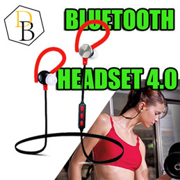 Wholesale for iphone7 Wireless Bluetooth V4 Headset Y622 Sport Text And Noise Reduction Stereo Headphone Earphone Best high quality