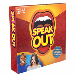Wholesale Speak Out Game Best Selling Interesting Party Game for Halloween Christmas kids birthday gift b396
