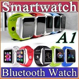 Wholesale 10X Bluetooth SmartWatch A1 GT08 DZ09 U8 Smart Watch Wrist Watch Men Sport iwatch style watch for IOS Apple Android Samsung smartphone F BS