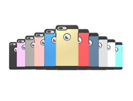 100PCS Tough Armor 2nd Shockproof Case Cover for iPhone 7 Plus No Package Free DHL