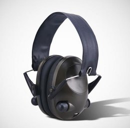 Wholesale Hearing Protection Earmuffs Anti noise Peltor IPSC Impact Sport Hunting Electronic Tactical Earmuff Shooting Ear Protectors