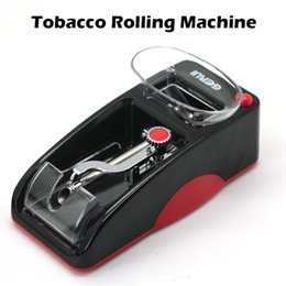 Wholesale Original GERUI Automatic Rolling Machine Tobacco Roller mm Metal and Plastic Made Rolling Machine Blue Red Available