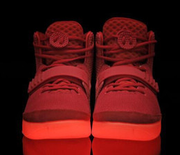 Wholesale 2016 Brand New Air Rerto Kanye Skate boarding RED October West Mens sports Athletic Basketball Shoes bottom Trainers Super